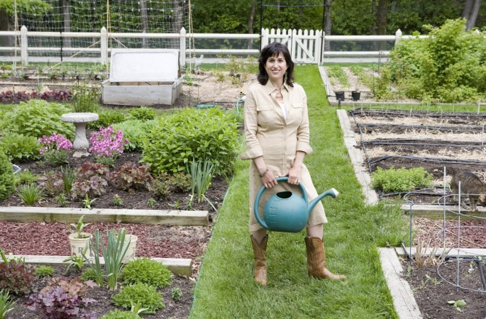 Jeanne Nolan, The Organic Gardener Photo courtesy of Jill Paider