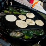 Tortillas on the Comal