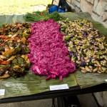 Jazzfood's Farmer's Market inspired installation