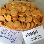 Chow Poodle's Cheese Coins